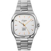 Glashütte Original Seventies Panorama Date Steel 40mm Silver United States of America, Pennsylvania, Holland