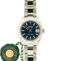 Rolex Lady-Datejust 31mm Ref#178274, Steel, Fluted Gold Bezel,...
