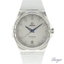 Omega Constellation Quartz Steel 35mm No numerals