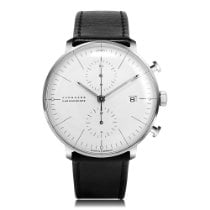 Junghans Chronograph 40mm Automatik 2018 neu max bill Chronoscope