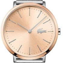 Lacoste new Quartz 35mm Steel Mineral Glass
