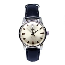 Longines Conquest Heritage Steel 33.5mm Silver No numerals