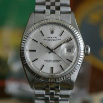 Rolex 36mm Automatic 1975 pre-owned Datejust (Submodel) Silver