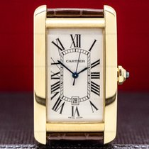 Cartier Tank Américaine pre-owned 2603156mm Yellow gold