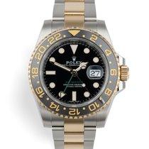 Rolex 116713LN Gold/Stahl 2016 GMT-Master II 40mm gebraucht