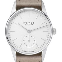 NOMOS Orion 33 Steel 32.8mm Silver