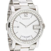 Gucci Steel 38mm Quartz YA101306 pre-owned United States of America, New York, New York