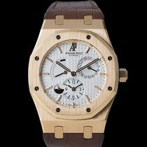 Audemars Piguet Royal Oak Dual Time Rotgold 39mm Weiß