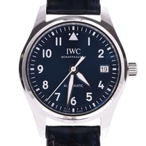 IWC Pilot's Watch Automatic 36 pre-owned 36mm Blue Leather