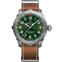 Breitling Titanium Automatic Green Arabic numerals 46mm new Navitimer 01 (46 MM)
