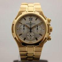 Vacheron Constantin 49140 Zuto zlato Overseas Chronograph 40mm rabljen