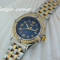 Breitling Wings Lady Gold/Steel 31,5mm Blue Arabic numerals