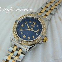 Breitling Wings Lady Gold/Stahl 31,5mm Blau Arabisch Deutschland, Castrop-Rauxel