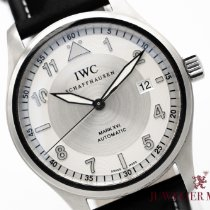 IWC Pilot Mark Steel 39mm Silver Arabic numerals