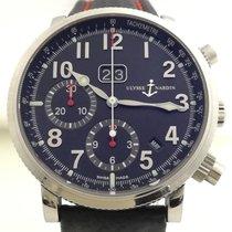 Ulysse Nardin Marine Chronograph Steel 40mm Black Arabic numerals