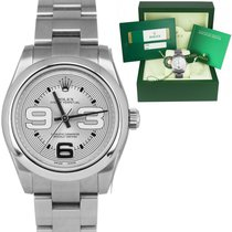 Rolex Oyster Perpetual 31 Steel 31mm Silver Arabic numerals United States of America, New York, Massapequa Park