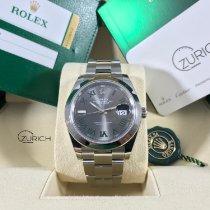 Rolex Datejust Acero 41mm Verde Sin cifras España, Malaga