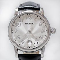 Montblanc new Quartz Guilloche Dial 40mm Steel Sapphire crystal