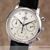 Union Glashütte Steel 39mm Manual winding 30.06.01.02.10 pre-owned