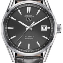TAG Heuer Carrera Calibre 5 new Automatic Watch with original box and original papers WAR211C.FC6336