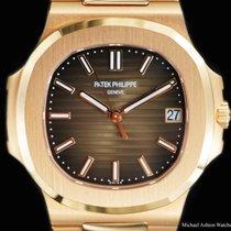Patek Philippe Nautilus 5711/1R-001 Very good Rose gold 40mm Automatic