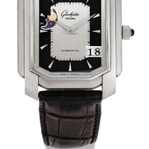 Glashütte Original | A Limited Edition Platinum Rectangular...
