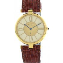 Cartier pre-owned 30.5mm Gold/Steel
