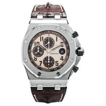 Audemars Piguet Royal Oak Offshore Chronograph Steel Brown...