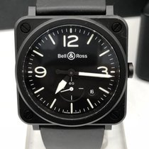 Bell & Ross ceramic BRS-64 black