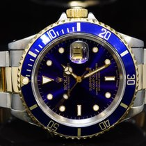 Rolex 1991 Steel & Gold Submariner Date, 16613, Boxed
