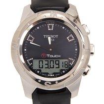 Tissot Titan Kvarts Blå 43.3mm ny T-Touch II
