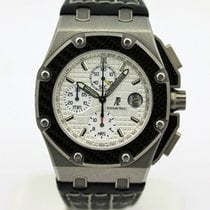 Audemars Piguet Royal Oak Offshore Chronograph Titanio 42mm Plata