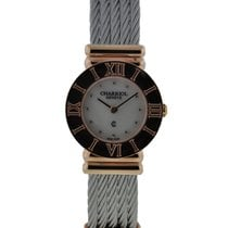 Charriol St-tropez Rose Pvd Stainless Steel Mop Diamond Dial...