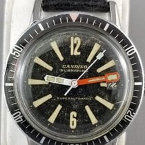 Candino pre-owned Automatic 36 x 38mm Black Plexiglass Not water resistant