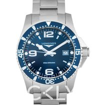 浪琴 Longines HydroConquest Blue Dial Men's Watch/41mm - L3.740.4