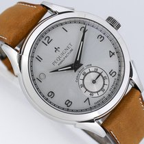 Pequignet 42mm Manual winding new Silver