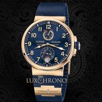 Ulysse Nardin Marine Chronometer Manufacture Rose gold 43mm Blue Arabic numerals