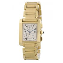 Cartier W50005R2 Yellow gold 2015 Tank Française 28mm pre-owned United States of America, New York, New York