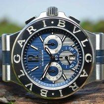 Bulgari Chronograph 42mm Automatic new Diagono Blue
