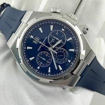 Vacheron Constantin Overseas Chronograph Steel 42mm Blue No numerals