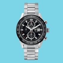TAG Heuer Carrera Calibre HEUER 01 CAR201Z.BA0714 Новые Сталь 43mm Автоподзавод