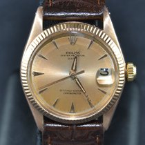 Rolex Oyster Perpetual Date Or rose 31mm Sans chiffres