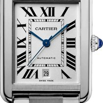 Cartier Tank Solo Staal 31mm Zilver Romeins Nederland, Amsterdam