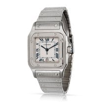 Cartier Santos Galbée Steel 29mm Grey Roman numerals United States of America, New York, New York
