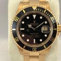 Rolex 16618 Or jaune 2007 Submariner Date 40mm occasion
