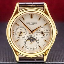 Patek Philippe Rose gold Automatic 36mm pre-owned Perpetual Calendar