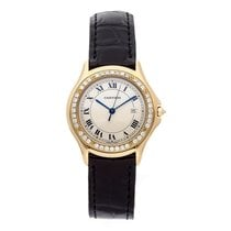 Cartier Cougar Yellow gold 33mm Champagne Roman numerals United States of America, Pennsylvania, Bala Cynwyd