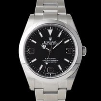 Rolex Explorer Steel 39mm Black
