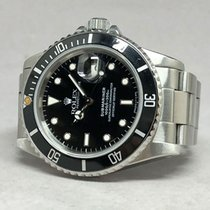 Rolex Steel Automatic 40mm pre-owned Submariner Date