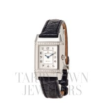 Jaeger-LeCoultre Reverso (submodel) pre-owned 33mm Silver Leather